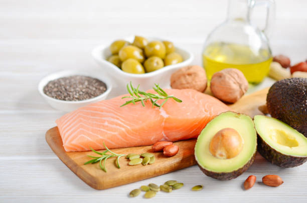 Food rich in unsaturated fat