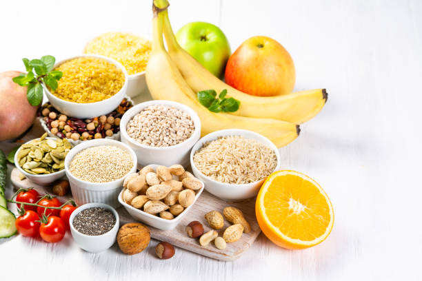 Food rich in complex carbohydrates