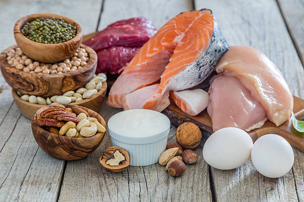 Food rich in protein