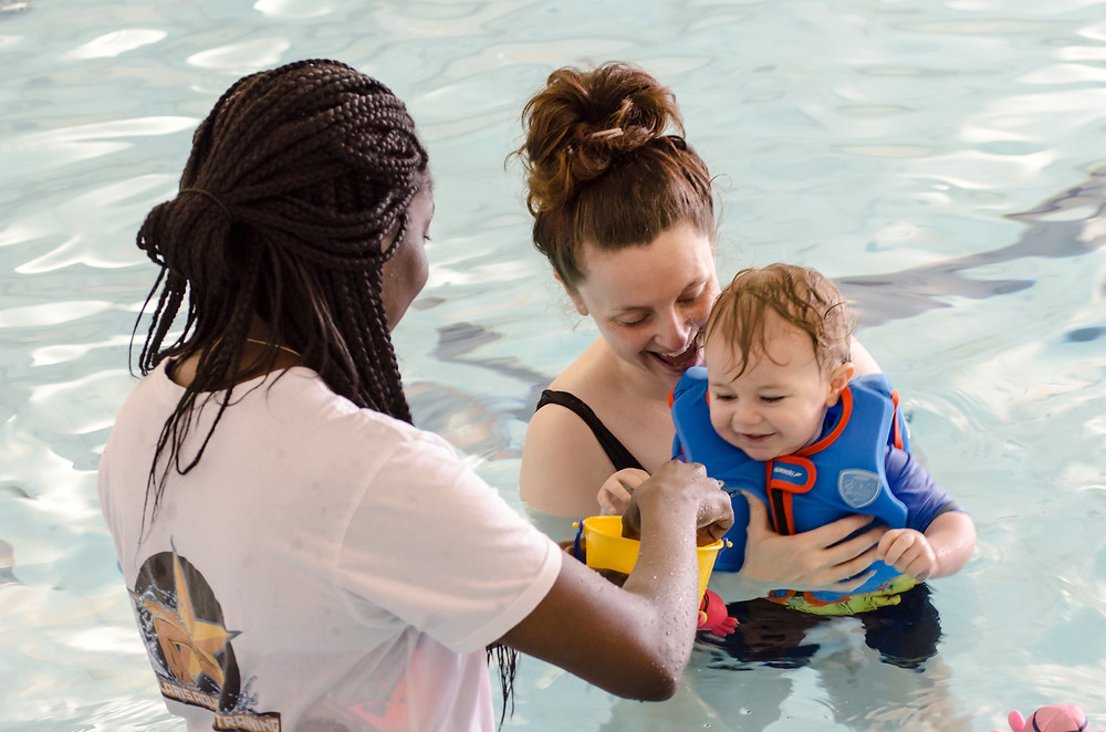 Baby and non-swimmer courses for parents, teachers and carers