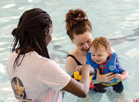 Teaching babies and non swimmers