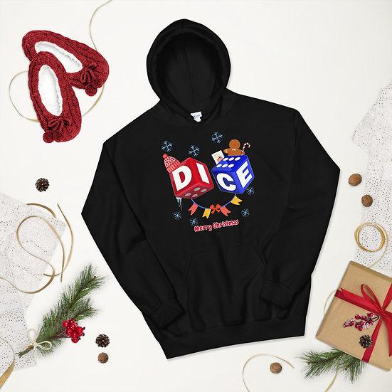 DICE Christmas Unisex Hoodie
