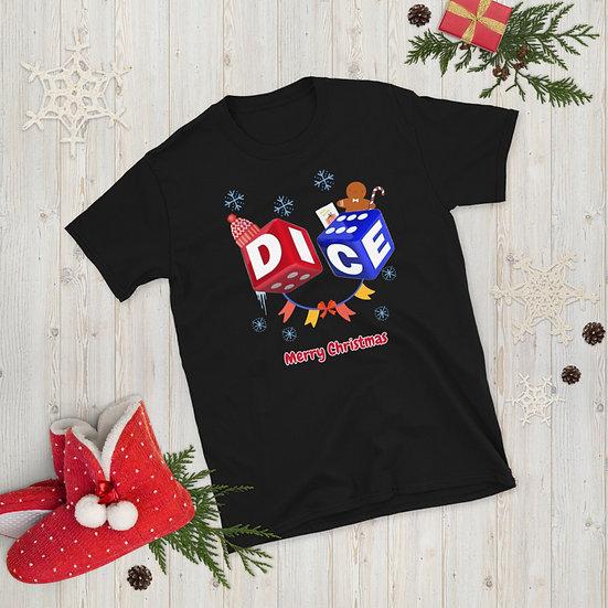 DICE Christmas - Short-Sleeve Unisex T-Shirt