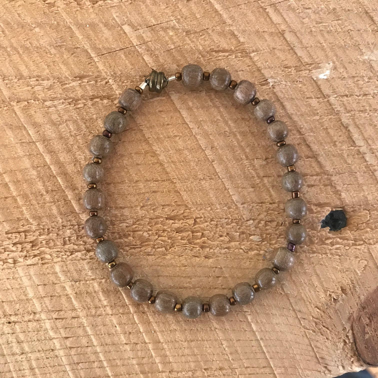 Wooden Magnetic Bracelet