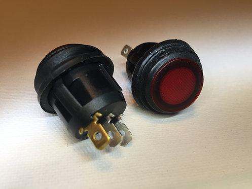 2 Illuminated Marine Grade Rocker Switches
