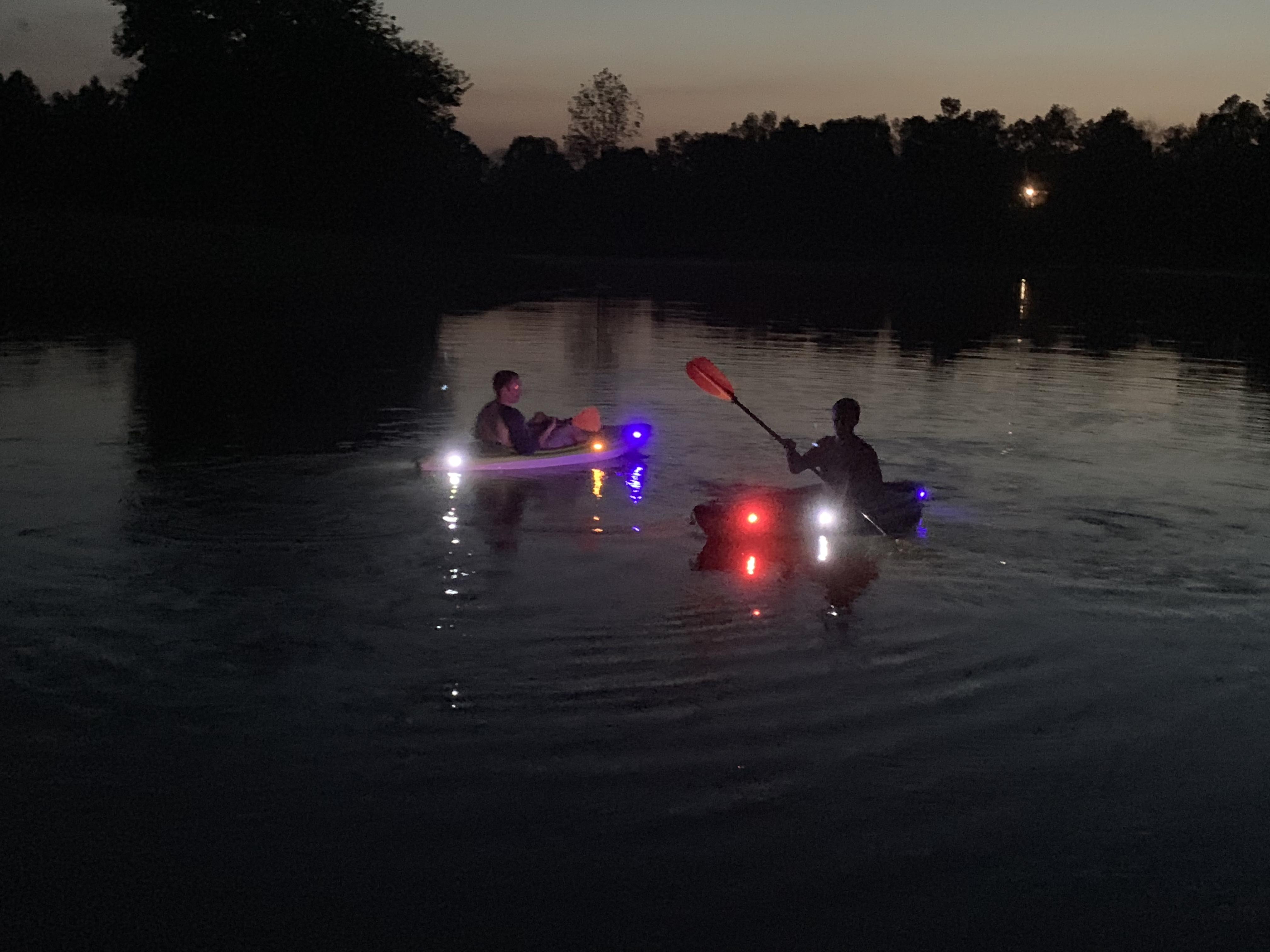 Cool Kayak Lights