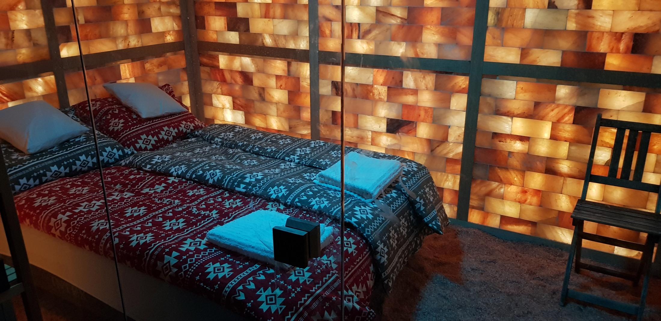 Gyógyító alvás a sószobában