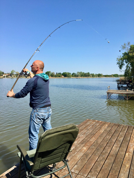 Stég, horgászat, szabadság