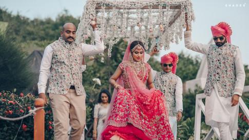 Wedding of Poojitha & Harish