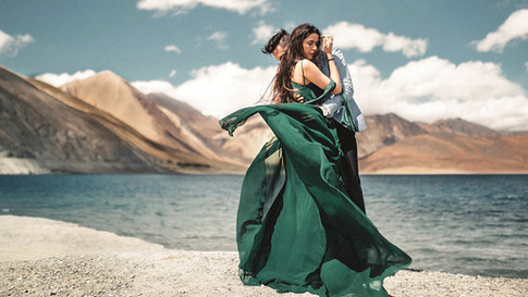 Shweta & Manjeet, Ladakh