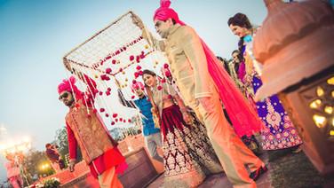 Disha & Aalok, Jaipur