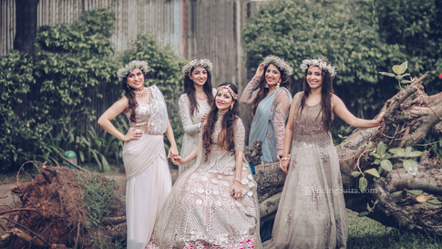 Bridesmaid Shoot with Weddingsutra