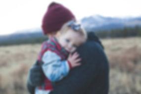 Parent dad with child