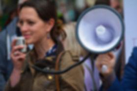 Pregnant worker activist