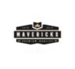 Mavericks Logo (White).png