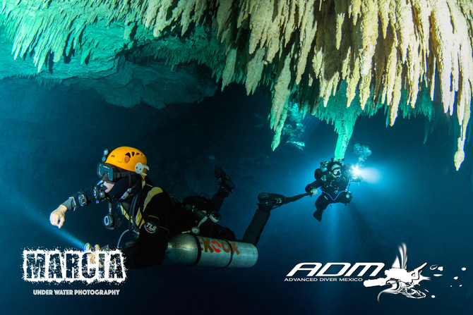 CAVE DIVING -The Pit.