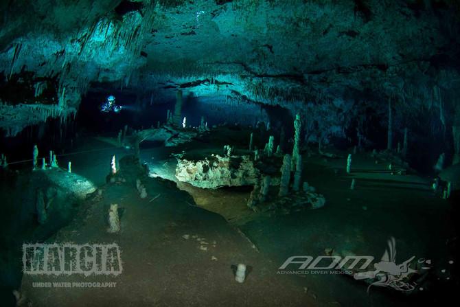 Cenote dos Pisos Photo shoot