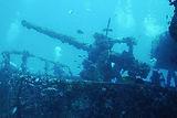 2000 - Cancun BaySinking Ship Cañonero C-58