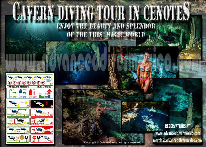 Cenote diving / Cavern Diving Is Fun!!!