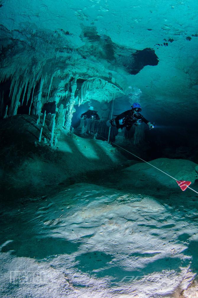 Tip´s para fotografia en cuevas inundadas