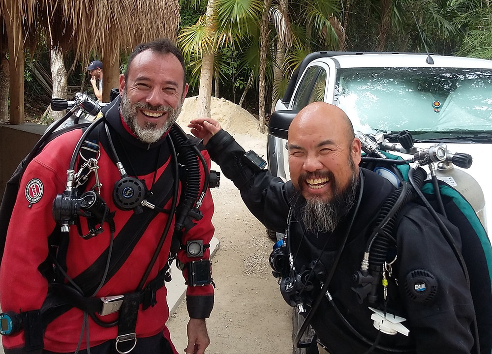 cave diving mexico gran cenote