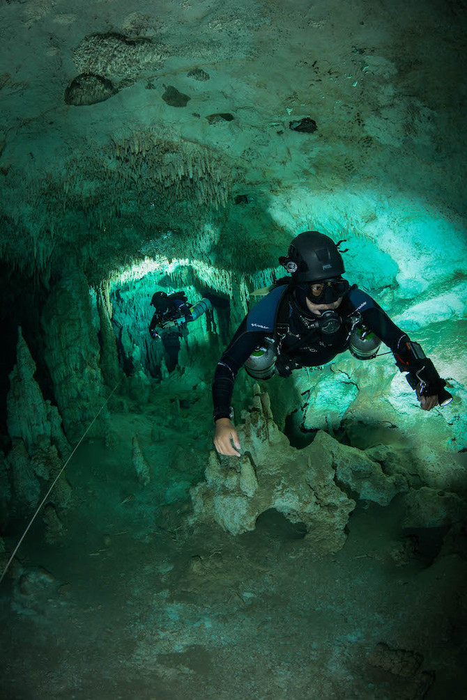 Tip´s for cave diving Photography