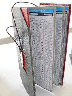cartonnage carnet pliable