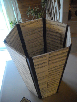 cartonnage corbeille papier