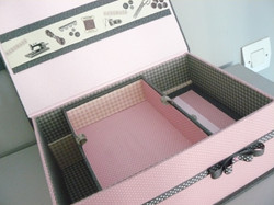 cartonnage boite couture interieure