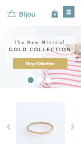 Online Store website templates – Jewelry Designer