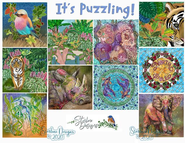 Designs for Square Puzzles