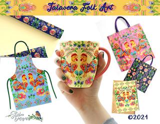 Talavera Folk Art