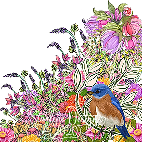 Bluebird Wildflower Collagex.png