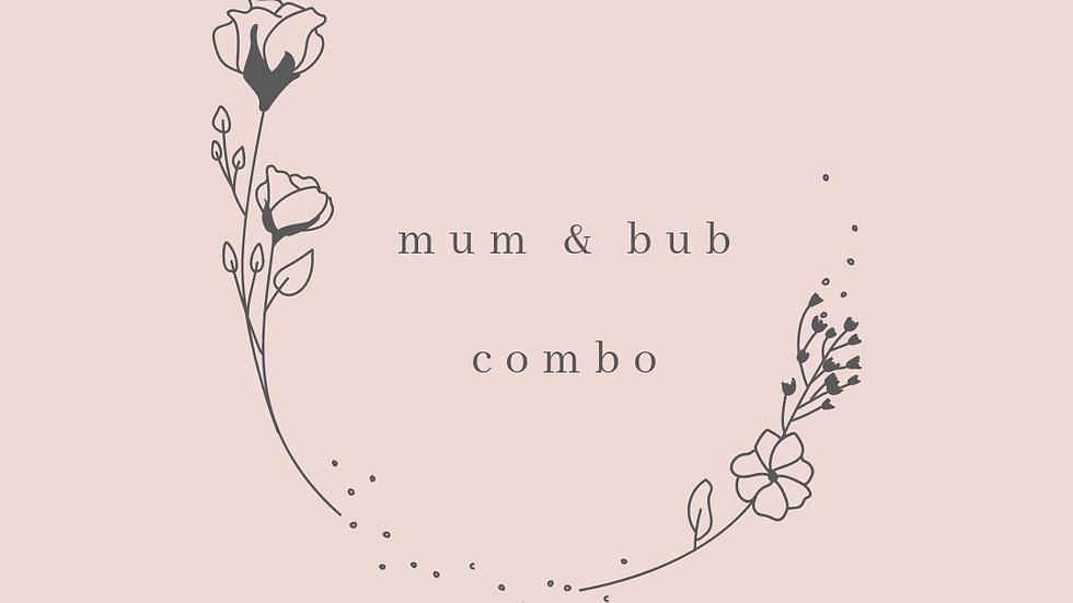 Mum & bub combo