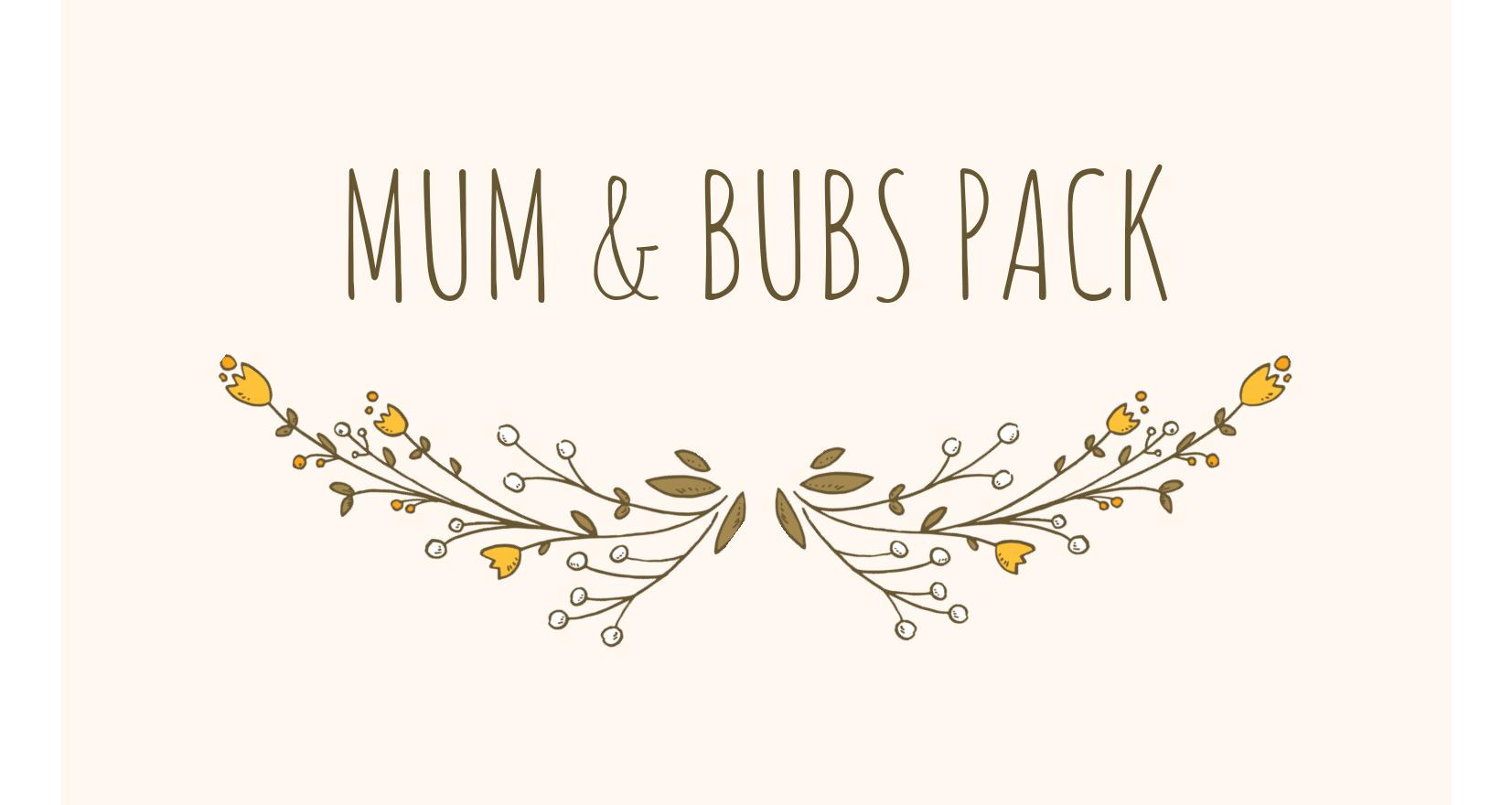 Mum & bubs pack