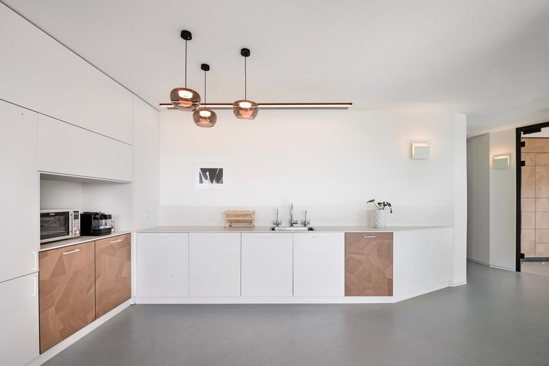 Pictet Bank kitchen