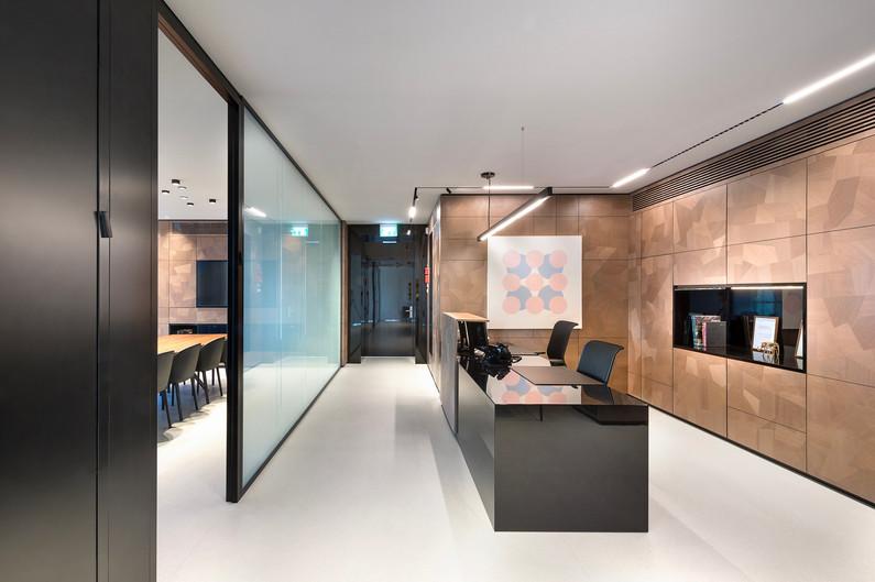 Pictet Bank reception