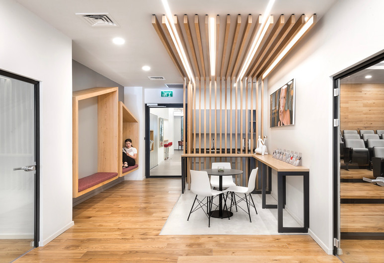 Pharma reception area