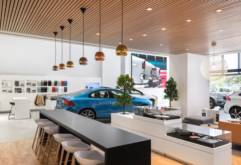 Volvo cafeteria