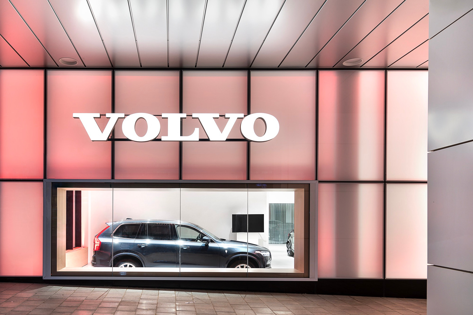 volvo showroom