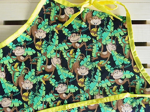 Mischievous Monkeys Apron