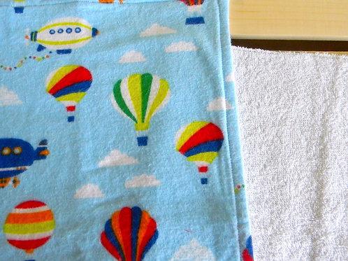 Hot Air Balloon Burp Cloth