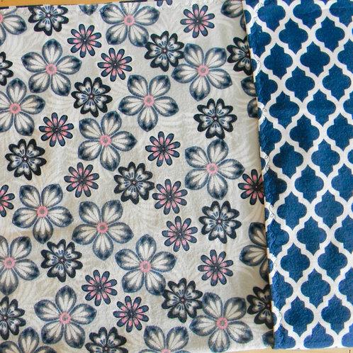 Floral Fun Flannel Blanket