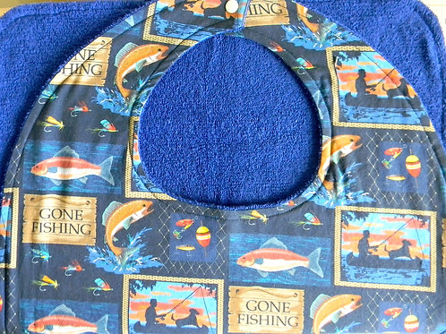 Gone Fishing Clothing Protector
