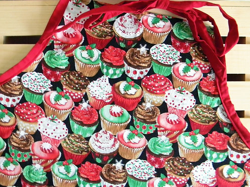 Christmas Cupcakes Apron