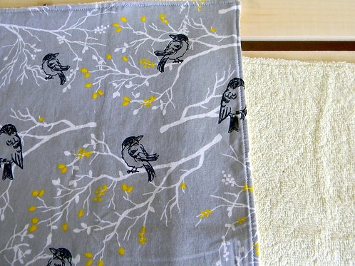 Singing Sparrows Burp Cloth