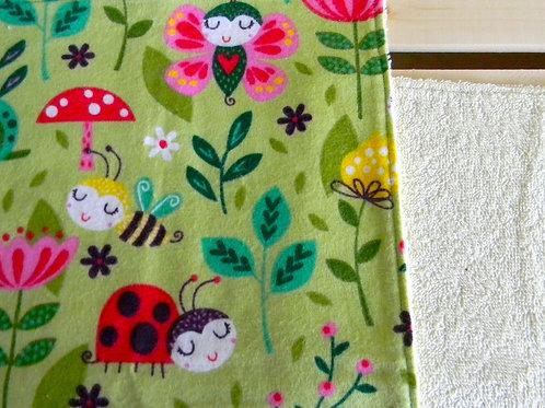 Garden Buddies Burp Cloth