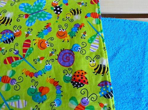 Happy Caterpillar Burp Cloth