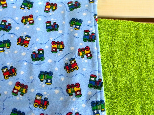 Choo Choo Train Burp Cloth