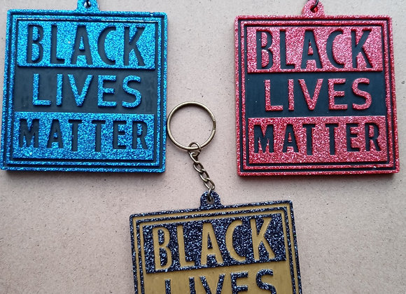 Black Lives Matter Keychain